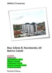 Apartamento Mobiliado no Residencial Senna