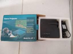 Game projetor e VGA conversor