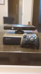 XBOX 360 + kinect + jogos