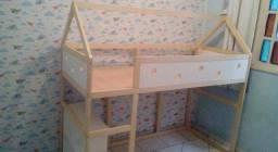 Título do anúncio: Cama Montessori 2 andar