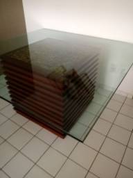 Mesa de vidro 15mm