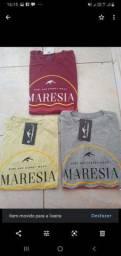Camisas de algodão  várias marcas