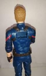 Boneco Capitão América original da Hasbro 30cm