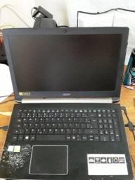 Notebook Gamer Acer A515-51G-72DB