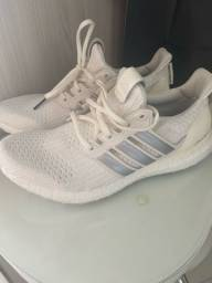 Tênis Ultraboost 20 Adidas Branco Tam. 40