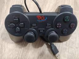 Controle Gamer Usb Para Pc Emulador Xbox Ps1 Ps2 Nintendo