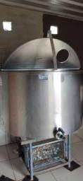 Tanque resfriador de leite 1000L