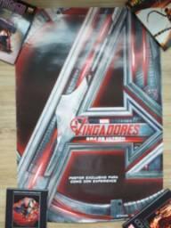 Poster Vingadores Era de Ultron EXCLUSIVO Comic Con