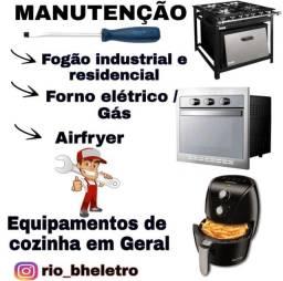 Conserto/ manutenção de equipamentos de cozinha