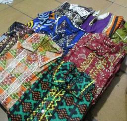 Camisas africanas novas e originais masculina