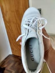 Sapatênis da Gucci tamanho 39
