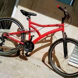 Bike Caloi boa câmbio da Shimano
