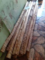Mourão Eucalipto tratado e Arame farpado