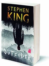 "Vendo livro ""Outsider"" (Stephen King) - seminovo"