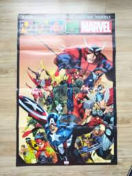 Poster Marvel EXCLUSIVO Coleção Salvat