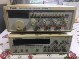 Gerador De Funções 9205 C, Frequencimetro Goldstar FC-2130U
