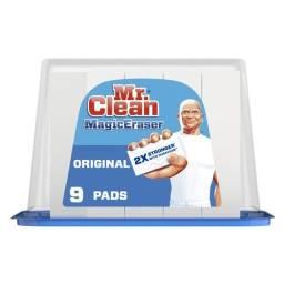 Esponja Magica Mr Clean Com 9 Unidades - Pronta Entrega