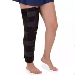 Imobilizador de joelhos bi lateral órtese  serve para perna direita ou esquerda