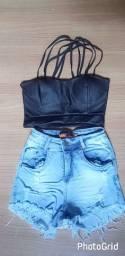 Cropet e shorts n36 38