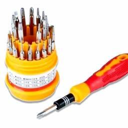 Promoção kit com 31 mini chaves de ponta precisão reparo