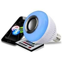 Lâmpada Led com som Bluetooth