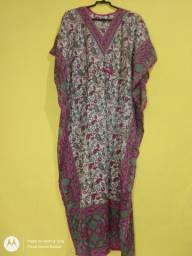 Vestido Kaftan longo indiano