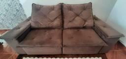 Sofá retratil e reclinavel (perfeito)