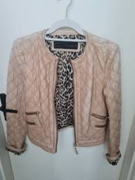 Jaqueta de couro original Zara