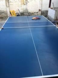 Mesa de Ping Pong / Tênis de Mesa Klopf Olimpic - 15 mm - Azul + KIT
