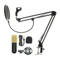 Kit microfone condensador