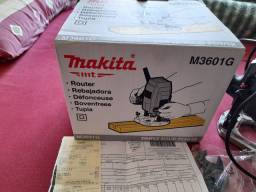 Vendo essa tupia de bancada M3601G da Makita com mês de uso com nota fiscal