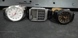 Pacote. 3 relógios