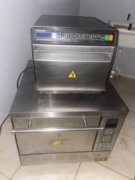 Forno e microondas profissional