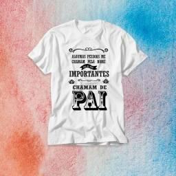 Camisas personalizadas tema dia dos pais