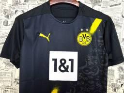 Camisa Borussia Dortmund 2020-21 (Away-Uniforme 2)