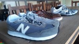 Vendo Nike Shox(tam45)New Balance(tam45)Botina Democrata(tam44)