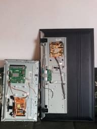 Placa de TVs funcionando
