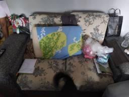 DOAÇÃO: Sofá de 2 e 3 lugares