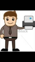 Assistência Técnica  especializada em; IMPRESSORAS, COMPUTADORES E NOTEBOOKS.