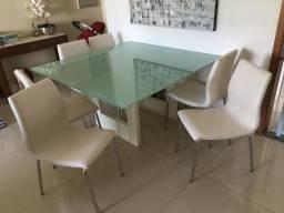 Mesa de Jantar 8 Cadeira