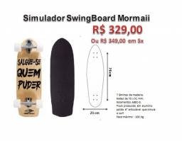 Skate Swingboard (Simulador de Surf) Mormaii - Salgue-se quem puder