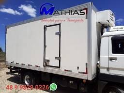 camara refrigerada 5.40m com equipamento de frio Mathias implementos