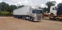 Título do anúncio: Scania engatado na câmera fria