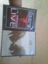 DVD's Originais U2 e The Doors