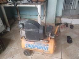 Compressor chaperine 24 litros conservado funciona tudo