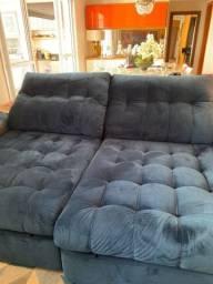 Título do anúncio: Sofá azul marinho