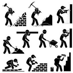 Título do anúncio: Seleção de ajudante ou meio-oficial de soldador, carpintaria, pedreiro