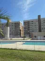 Apartamento de dois dormitórios semi mobiliado no Moradas Club Canoas R$255Mil