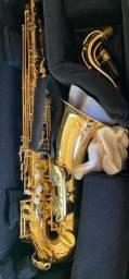 Sax Tenor Weril usado - dourado