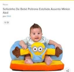 Sofá para bebê até 15 kg